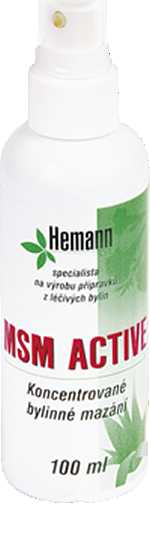 HEMANN MSM Active 100ml.